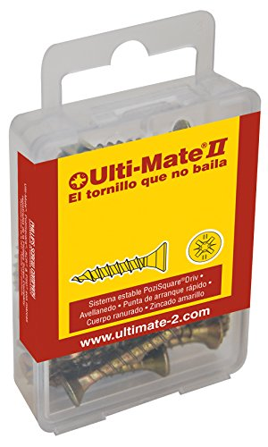 Ulti-Mate II S40050S Caja pequeña con tornillos de alto rendimiento para madera...