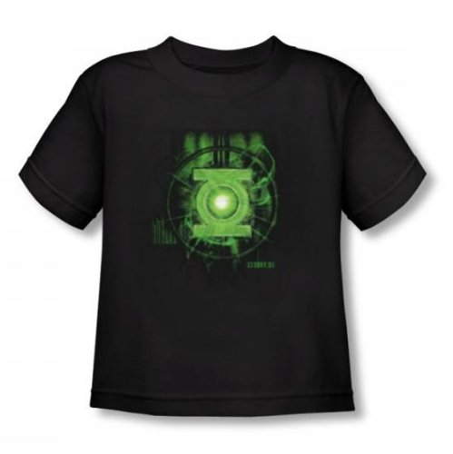 Green Lantern - - Puissance Lectures Toddler T-Shirt In Black, 2T, Black