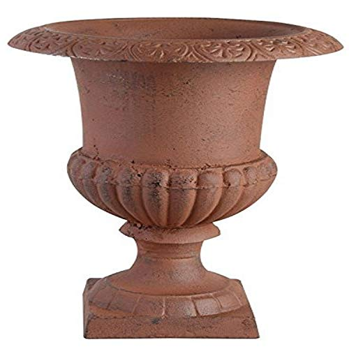 Esschert Design Französische Vase, braun, 31.5x31.5x42.3 cm, XH61-AR
