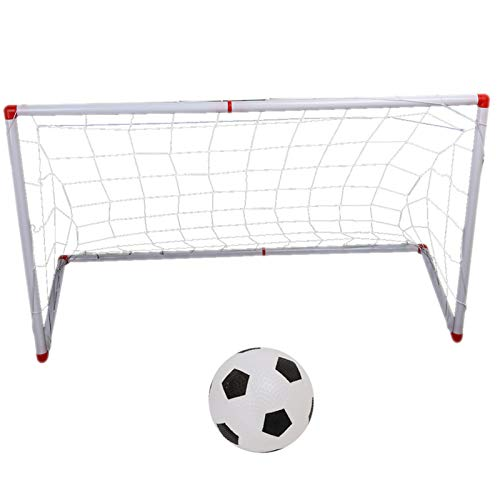 Pinsofy Red para Postes De Portería De Fútbol, Red para Postes De Portería para Niños Conveniente para Acampar para Niños(106cm)
