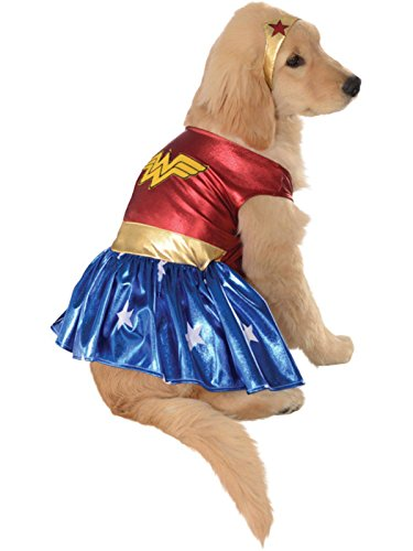 Rubis Officielle Pet Costume pour Chien, Wonder Woman – X-Large