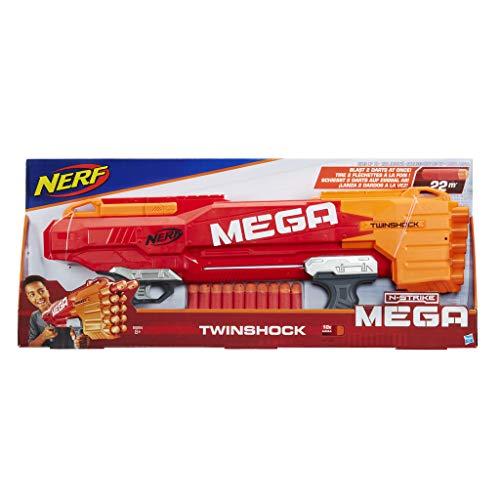 Hasbro Nerf B9894EU4 Mega Twinshock, Spielzeugblaster