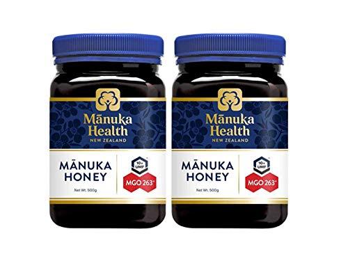 マヌカヘルス マヌカハニー 500g 2個セット MGO263+ / UMF10+ [ニュージーランド産 ]