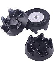 3 stks Vervangende Rubber Koppeling Koppelingsversnelling Fit Voor Keukenhulp Blender 9704230 (3.6x1.5cm 3.6x1.5 cm DxH) (0.6cm 0.6 cm Center Gat Diameter)