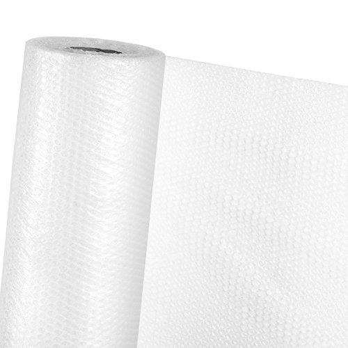 Isolierfolie 1,2m x 100m UV-beständige Luftpolsterfolie als Winterschutz