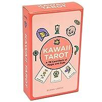 78カード/カワイイタロットカード、占い運命ゲームデッキタロットカードボードゲームトランプ、かわいい日本のミニマリストタトゥータトゥーカード,Tarot cards+bags+tablecloths