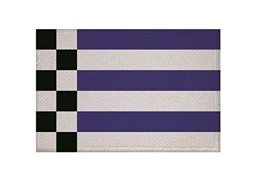 U24 Aufnäher Norderney Fahne Flagge Aufbügler Patch 9 x 6 cm