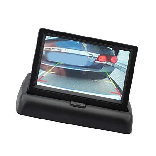 Pantalla de monitor de coche 4.3 pulgadas Pantalla de cámara trasera TFT...