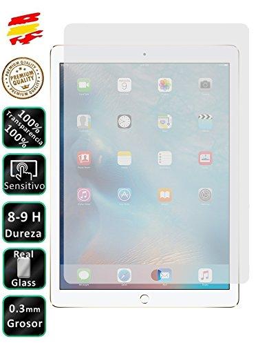 Movilrey Protector para Apple iPad Pro 9.7 Cristal Templado de Pantalla Vidrio 9H para Tablet