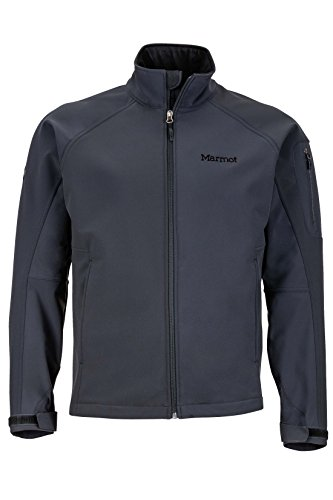 Marmot Gravity Men's Softshell Windbreaker Jacket, Jet Black, Medium