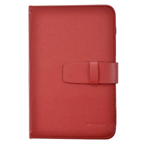 Housse couleur Rouge universel pour tablette 7