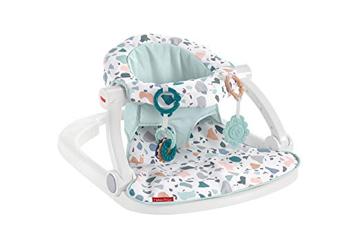 Fisher-Price Sit-Me-Up Floor Seat, Pacific Pebble, Infant Chair, Multicolor, 25.0 Pound