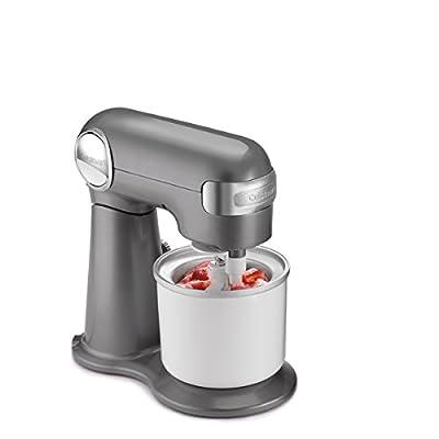 Cuisinart Fresh Fruit & Ice Cream Maker Attachment, White