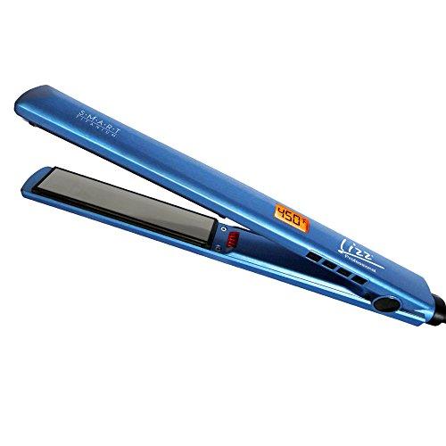 Prancha Smart Titanium Azul, Lizz Professional, 220V