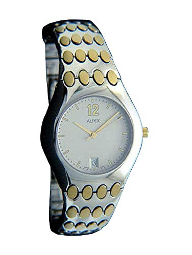 ALFEX dameshorloge analoog kwarts met roestvrij stalen armband 5462