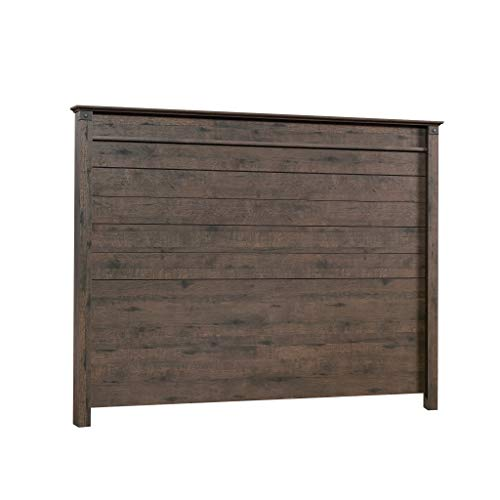 Sauder Carson Forge Headboard, Full/Queen, Coffee Oak finish
