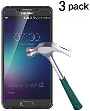 TANTEK Bubble Free Tempered Glass Screen Protector for Samsung Galaxy Note 5, 3 Pack