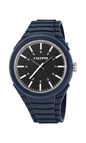 Calypso Reloj Análogo clásico para Hombre de Cuarzo con Correa en Plástico K5725/5