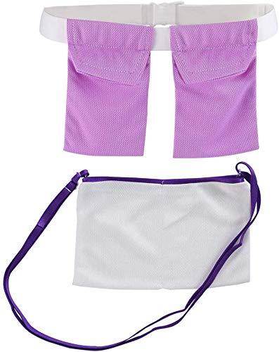 Mastectomy - Soporte de drenaje quirúrgico de reducción de mama, cirugía de recuperación, posmastectomía, soporte para bombillas, bolsa de ducha, cirugía de mama, kit de cuidado de cinturón ajustable