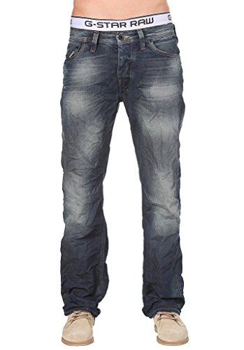 G-Star Herren Jeans Attacc Loose Forest Denim MEDIUM Aged W30L34