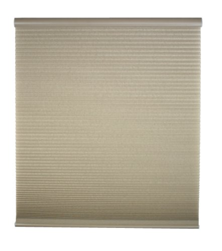 Perfect Lift Window Treatment Cut-to-Width Linen Cordless Light Filtering Cellular Shade - 43 in. W x 72 in. L