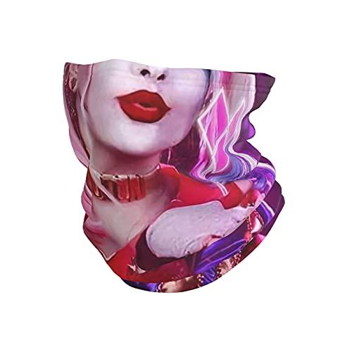 best& Harley Quinn - Máscara de tubo transpirable para el cuello y la cabeza de la motocicleta