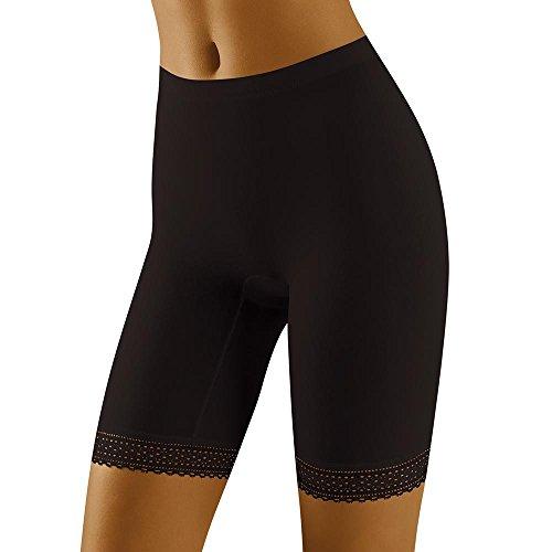 Wolbar Braguita pantalón Bermuda para Mujeres WB305, 3XL, Negro