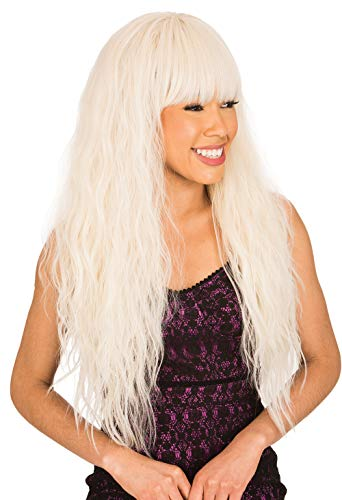 New Born Free Synthetic Full Wig - CUTIE WIG COLLECTION LONG WAVY CT161 (BUBBLE GUM)