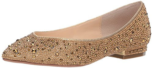 Top 10 best selling list for betsey johnson gold flat shoes