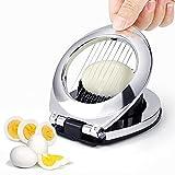 Tagliauova 2 in 1 per dischi e cunei per tagliare frutta e uova da cucina, utensile da cucina per tagliare uova, fragole, funghi, insalate