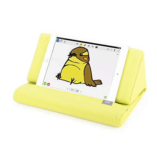 Ipevo Almohada de Apoyo PadPillow para Todas Las Generaciones de iPad Air, iPad Mini, iPad 4, iPad 3, iPad 2, iPad 1, Nexus y Galaxy - Verde