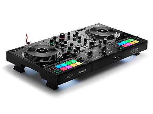 Hercules DJControl Inpulse 500: 2-deck USB DJ controller for Serato DJ and DJUCED...