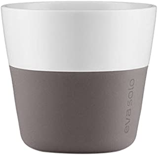 Eva Solo 230ml Lungo Tumblers, Elephant Gray, Set of 2