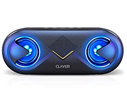 Clavier Supersonic Portable Bluetooth Speaker, Bluetooth 5.0 Wireless Speakers with 10W HD Sound and Rich Bass, 12H Playtime, Built-in Mic for iPhone & Android - Black,Clavier,S6BLACK,Clavier bluetooth speakers wireless,Clavier speaker,Clavier speakers wireless bluetooth,bluetooth speakers,portable bluetooth speakers wireless,portable speakers,usb speaker,wireless speakers