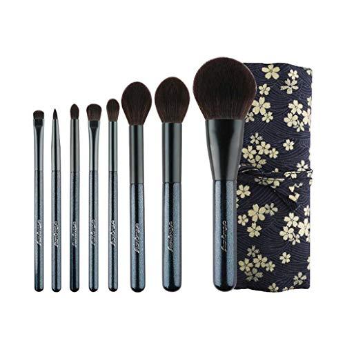 Pinceau de maquillage LHY- 8 pièces Pinceau Poudre Fard à Joues Highlight Ombre à Paupières Pinceau for Les débutants Mode
