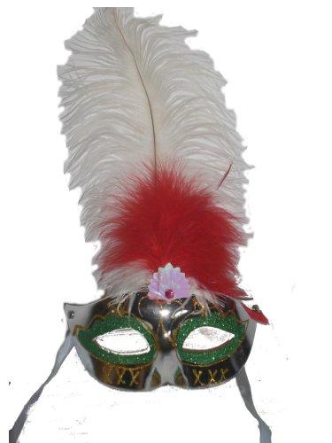 Maschera Carnevale di Rio colori assortiti