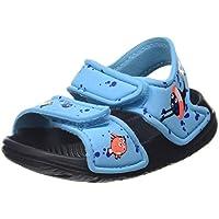 Adidas Altaswim Jr, Sandalia para Niños, Turquoise (Bright Cyan/FTWR White/Signal Coral), 24 EU