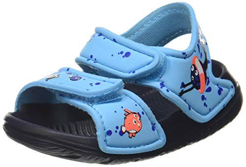 Adidas Altaswim Jr, Sandalia Unisex niños, Turquoise (Bright Cyan/FTWR White/Signal Coral), 21 EU