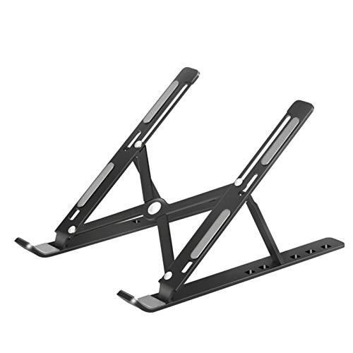 UKKD Laptop Stand Portable Laptop Stand Aluminium Foldable Notebook Support Laptop Base book Pro Holder Adjustable Bracket Computer Accessories