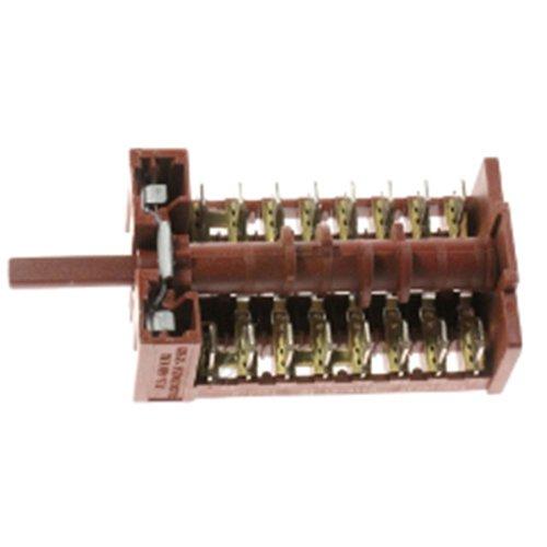 Easyricambi Conmutador selector de horno cocina 7 posiciones 263900054 Ex 263900018 Beko