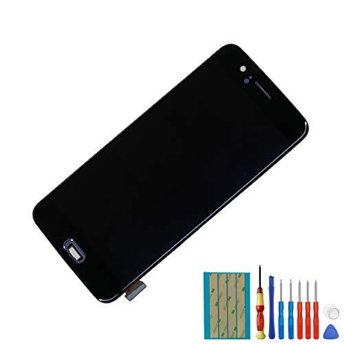 Melphyreal Voor OnePlus 5 A5000 Amoled display touchscreen glas vervanging LCD-display digitizer met afbeelding (zwart) + gereedschappen