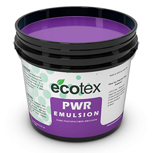 Ecotex PWR - Pre-Sensitized Water Resistant Screen Printing Emulsion (1 Quart)