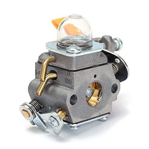 Carburador de motosierra carburador Carb Carburador Cortador de cepillo Kit de carburador Reemplazo 308054013 308054012 308054015 308054004 308054008 Compatible con RY26500, RY26520, RY26540
