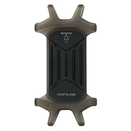 TOPEAK Omni RideCase und Strap Mount Smartphonehalterung, Black, 13.1x6.9x1.7 cm