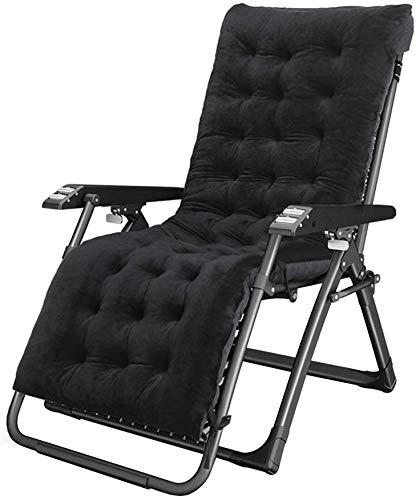 Transat Jardin Pliant Fauteuil Transat réglable Transat, chaises de Loisirs pour Les Personnes âgées, des chaises Longues Portables pour Une Utilisation en extérieur, Prend en Charge 440.