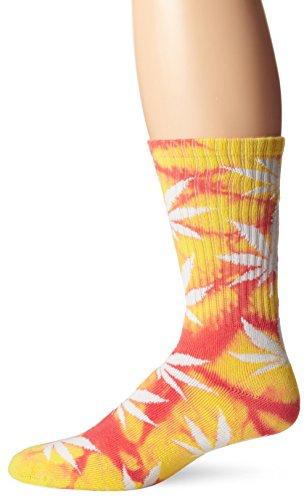 HUF TIE DYE Plantlife Sock gelb/Magenta