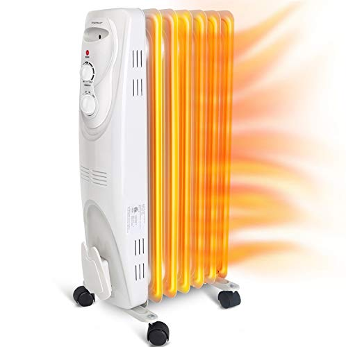 Aigostar Pangpang - 1500W Oil Filled Radiator Electric...