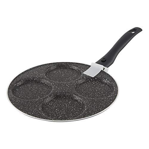 ALLUFLON Padella per Pancake, Alluminio, 24 cm