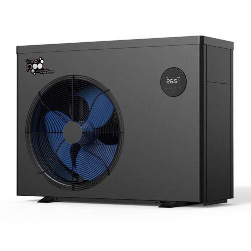 SAXONICA Pool Inverter Wärmepumpe Mr. Smart 9 | 9 kW | 230V | COP 13.5