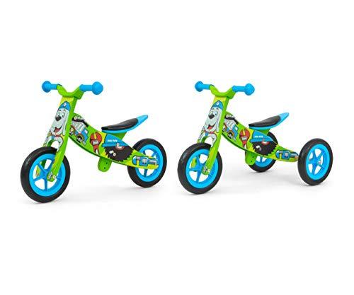 Milly Mally 5901761125252 Ride on 2 en 1 Look Bob, Color Verde